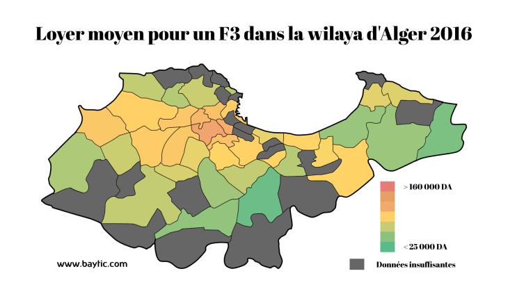 loyer F3, F2 Alger